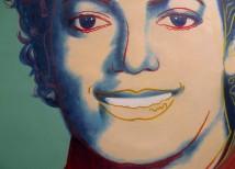 Michael Jackson schilderij van foto laten maken