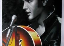 Elvis Presley Schilderij laten maken